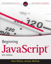 Beginning JavaScript, 4th Edition (0470631783) cover image