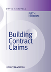 Building Contract Claims, 5th Edition (0470657383) cover image