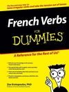 French Verbs For Dummies (0471773883) cover image