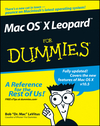 Mac OS X Leopard For Dummies (1118050983) cover image