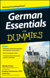 German Essentials For Dummies (1118240383) cover image