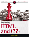 Beginning HTML and CSS (1118340183) cover image