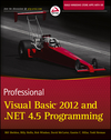 Professional Visual Basic 2012 and .NET 4.5 Programming (1118396383) cover image