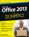 Office 2013 For Dummies (1118620283) cover image