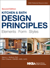 Kitchen and Bath Design Principles: Elements, Form, Styles, 2nd Edition (1118715683) cover image