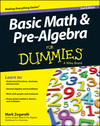 Basic Math and Pre-Algebra For Dummies, 2nd Edition (1118791983) cover image