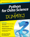 Python for Data Science For Dummies (1118843983) cover image