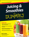 Juicing and Smoothies For Dummies, 2nd Edition (1119057183) cover image