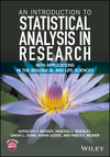 thumbnail image: An Introduction to Statistical Analysis in Research: With...