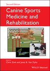 Canine Sports Medicine and Rehabilitation, 2nd Edition (1119380383) cover image