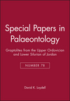 Special Papers in Palaeontology, Number 78, Graptolites from the Upper Ordovician and Lower Silurian of Jordan (1405179783) cover image
