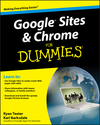 Google Sites and Chrome For Dummies (0470396784) cover image