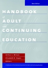 Handbook of Adult and Continuing Education, New Edition (0470545984) cover image