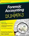 Forensic Accounting For Dummies (0470889284) cover image