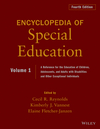 Encyclopedia of Special Education, Volume 1: A Reference for the Education of Children, Adolescents, and Adults Disabilities and Other Exceptional Individuals, 4th Edition (0470949384) cover image