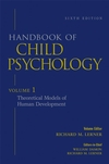 Handbook of Child Psychology, Volume 1, Theoretical Models of Human Development, 6th Edition (0471272884) cover image