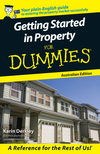 Getting Started in Property For Dummies, Australian Edition