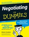 Negotiating For Dummies, 2nd Edition (1118068084) cover image