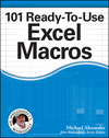 101 Ready-To-Use Excel Macros (1118330684) cover image