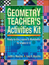 Geometry Teacher's Activities Kit: Ready-to-Use Lessons & Worksheets for Grades 6-12 (0130600385) cover image