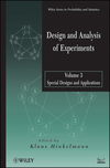 thumbnail image: Design and Analysis of Experiments, Volume 3, Special...
