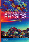 Condensed Matter Physics, 2nd Edition (0470617985) cover image