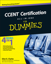 CCENT Certification All-In-One For Dummies (0470647485) cover image
