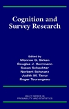 Cognition and Survey Research (0471241385) cover image