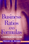 Business Ratios and Formulas: A Comprehensive Guide (0471463485) cover image