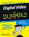 Digital Video For Dummies, 4th Edition (0471782785) cover image