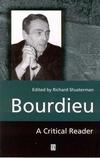 Bourdieu: A Critical Reader (0631188185) cover image