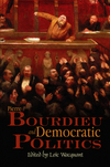Pierre Bourdieu and Democratic Politics: The Mystery of Ministry (0745634885) cover image
