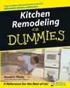 Kitchen Remodeling For Dummies (1118068785) cover image