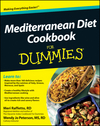 Mediterranean Diet Cookbook For Dummies (1118170385) cover image