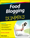 Food Blogging For Dummies (1118239385) cover image