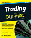 Trading For Dummies, 3rd Edition (1118681185) cover image