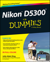 Nikon D5300 For Dummies (1118872185) cover image