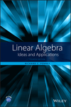 thumbnail image: Linear Algebra: Ideas and Applications, 4th Edition