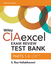 Wiley CIAexcel Exam Review 2016 Test Bank: Complete Set (1119242185) cover image