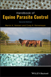 Handbook of Equine Parasite Control, 2nd Edition (1119382785) cover image