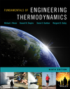 Fundamentals of Engineering Thermodynamics, Enhanced Edition, 9th Edition (1119391385) cover image