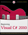 Beginning Visual C# 2010 (0470644486) cover image
