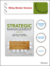 Strategic Management: Concepts and Tools for Creating Real World Strategy, Binder Ready Version (0470937386) cover image