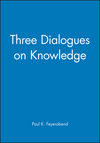 Three Dialogues on Knowledge (0631179186) cover image