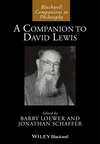 A Companion to David Lewis (1118388186) cover image