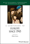 A Companion to Europe Since 1945 (1118729986) cover image