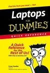 Laptops For Dummies Quick Reference (0470046287) cover image