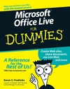 Microsoft Office Live For Dummies (0470116587) cover image