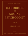 Handbook of Social Psychology, Volume One, 5th Edition (0470137487) cover image