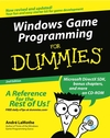 Windows Game Programming For Dummies, 2nd Edition